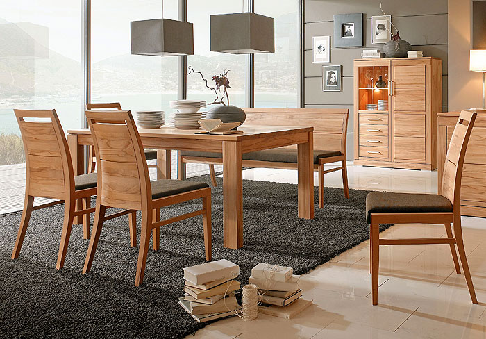Massivholzmöbel Esstisch Wohnzimmertisch Esszimmertisch