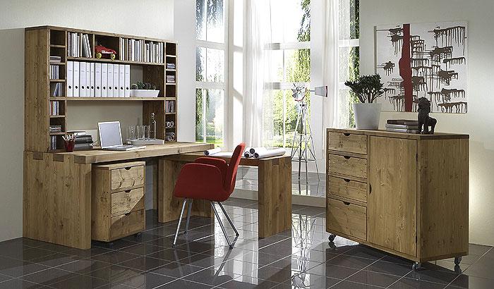 Massivholzmöbel aus Balken gefertigt - Balkenmöbel Kiefer Möbel