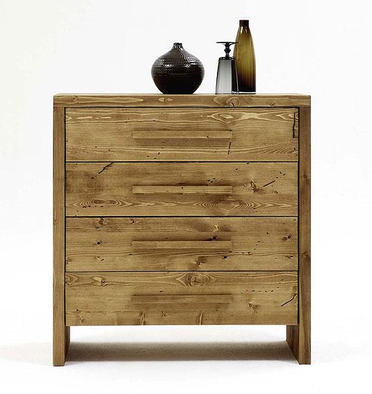 Massivholzmöbel Schubladenkommode Kiefer Möbel Nachttisch