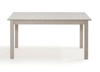 Massivholz Tisch weiß - Frankenmöbel