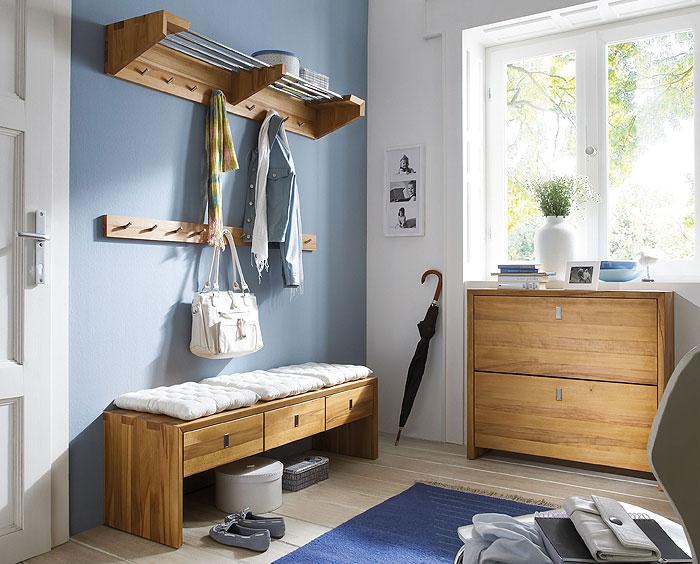 Camilla Flurmöbel Kernbuche massiv Holz