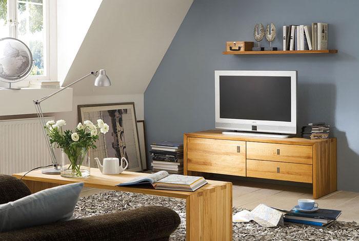 Camilla Wohnzimmermöbel Kernbuche massiv Holz
