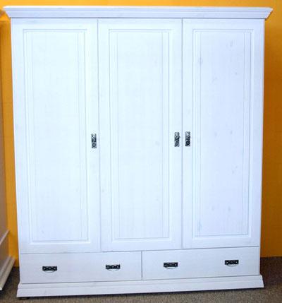 Kleiderschrank für Kinderzimmer - Kiefer Massivholz