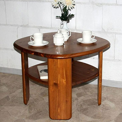 Besitelltisch Kiefer Massivholz provence lackiert