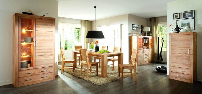 Möbel Aus Massivholz Für Esszimmer Und Wohnzimmer Gefertigt Wahlweise Aus  Massiver Wildeiche Oder Kernbuche