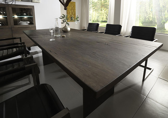 Esstisch Copenhagen Eiche Massivholz - Räucheröl Finish - Bodahl Möbler