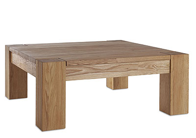 Couchtisch Wildeiche massiv Holz Oberfläche geölt