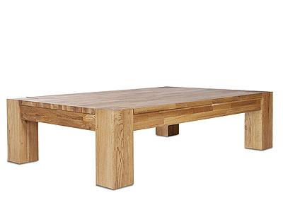 Sofatisch Wildeiche massiv Holz Oberfläche geölt
