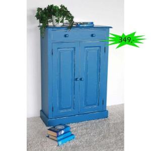 Wäscheschrank blau Shabby Chic Angebot