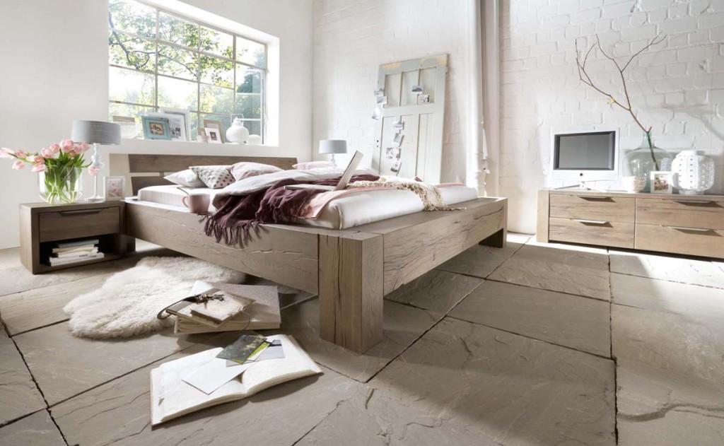 Echtholz Unikat Doppelbett Neuheit