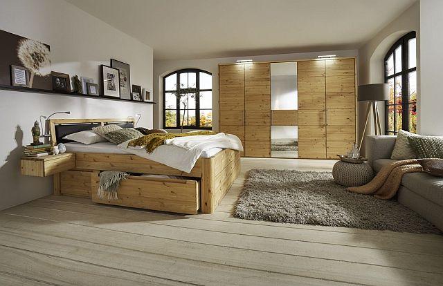 schlafzimmer kiefer geoelt massivholz