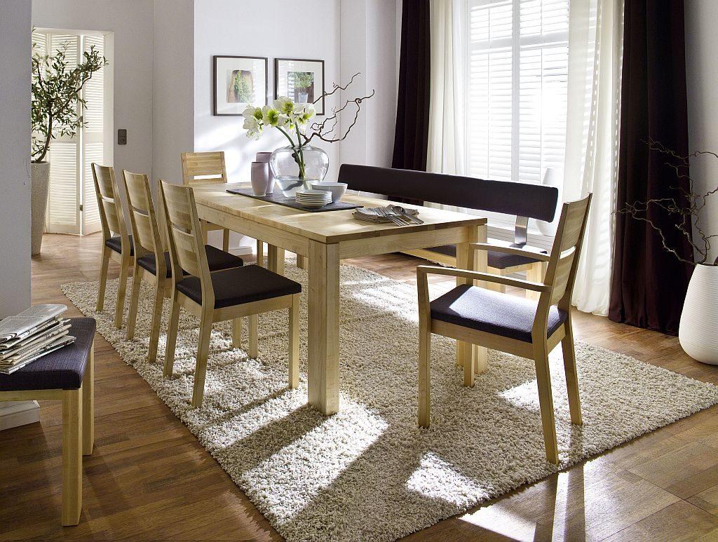 massivholztisch aus ahorn massiv