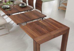 massivholztisch mit verlaengerungsfunktion nussbaum