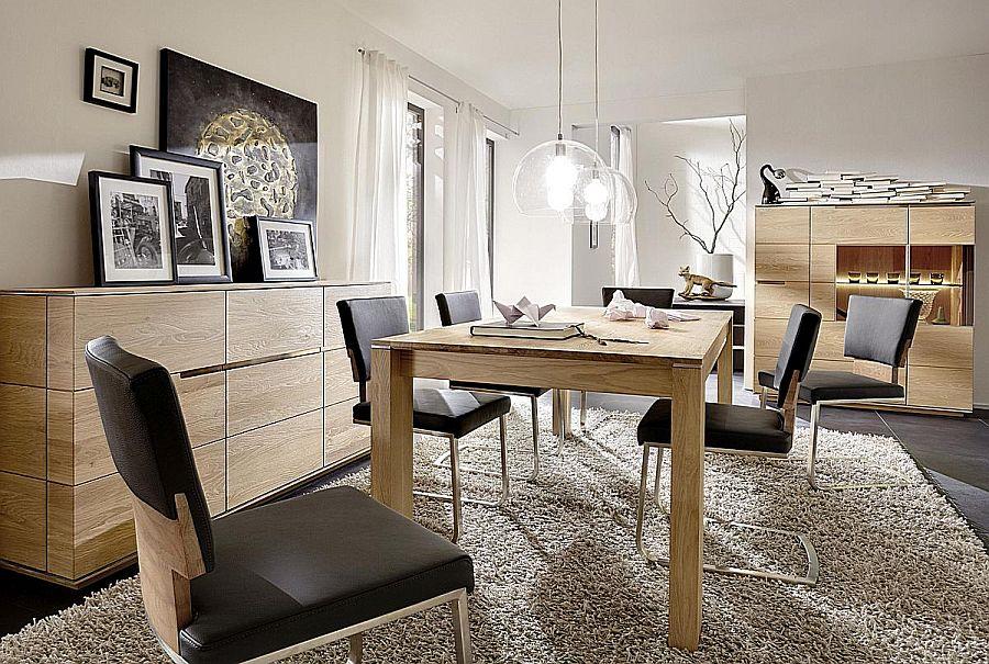 esszimmermoebel von wimmer wohnkollektionen in rustikaler asteiche bianco geoelt
