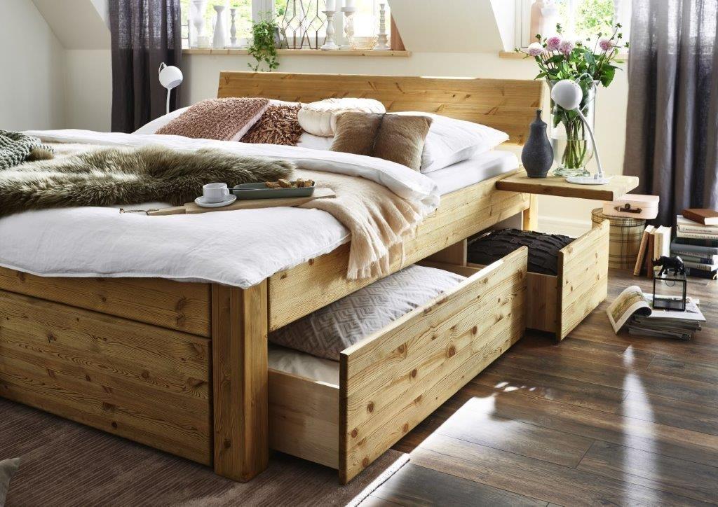easy sleep schubladenbett in kiefer massiv