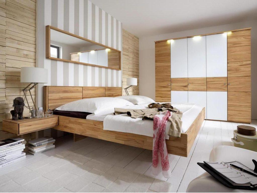 massivholz schlafzimmerschrank kernbuche geoelt
