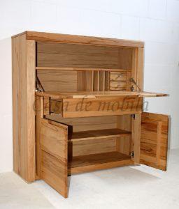 Schreibtisch,Kernbuche, Bueromoebel, Massivholz