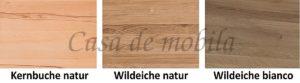 Holzvarianten, Casa de mobila