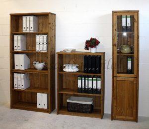 massivholz regalwand aktenregal büromöbel naturholz